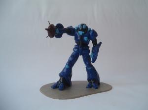 Bioroid de Robotech,con la misma técnica de Starfire ^_^