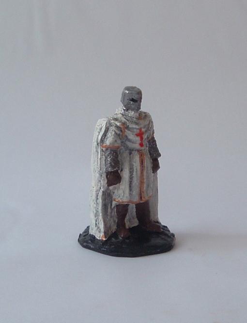 Figura de plomo hecha con moldes de yeso