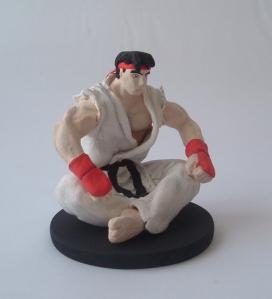 Ryu_figura_pasta_para_modelar
