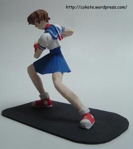 sakura street fighter arcilla 002