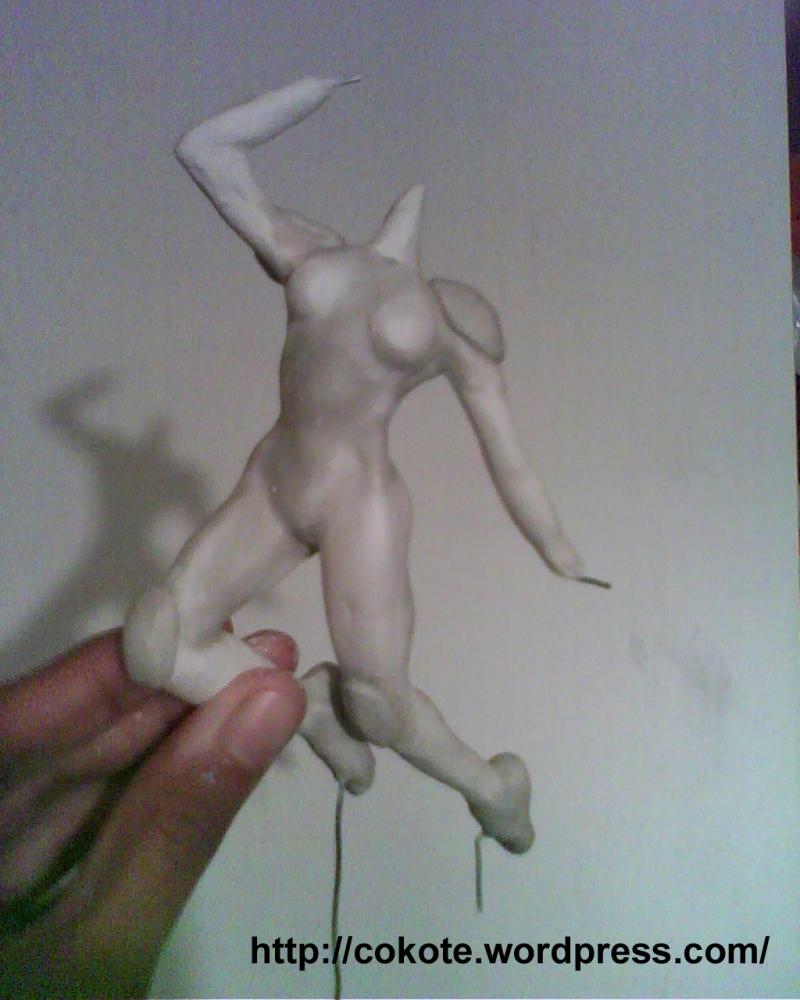 Modelando una figura... =D (Parte cuatro) (3/6)