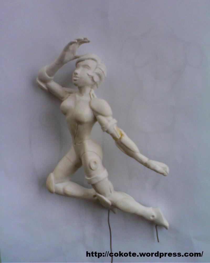 Modelando una figura... =D (Parte seis y final XD) (6/6)