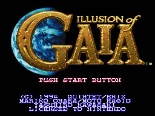 illusion of gaia titulo
